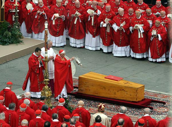 i funerali di papa giovanni paolo II
