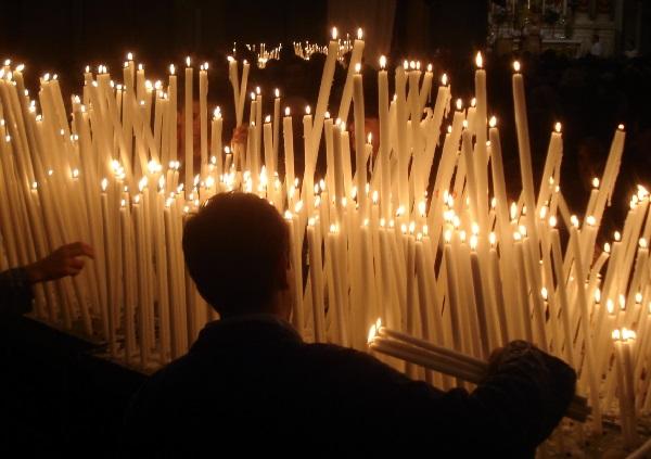 candele madonna della salute
