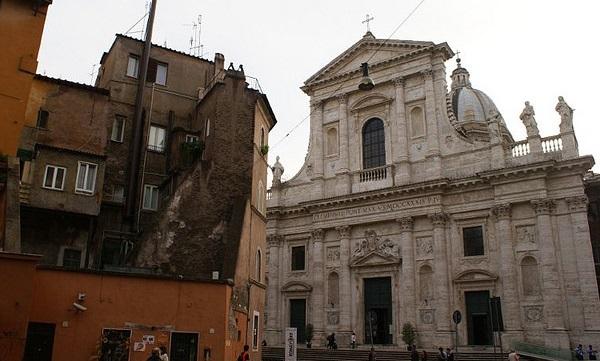 percorsi pellegrini roma san giovanni battista