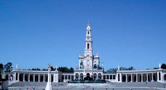 Il piazzale della Basilica di Fatima