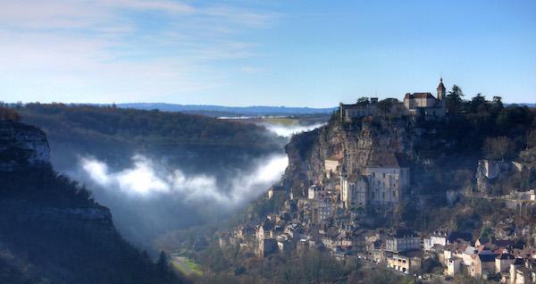 vista di rocamadour