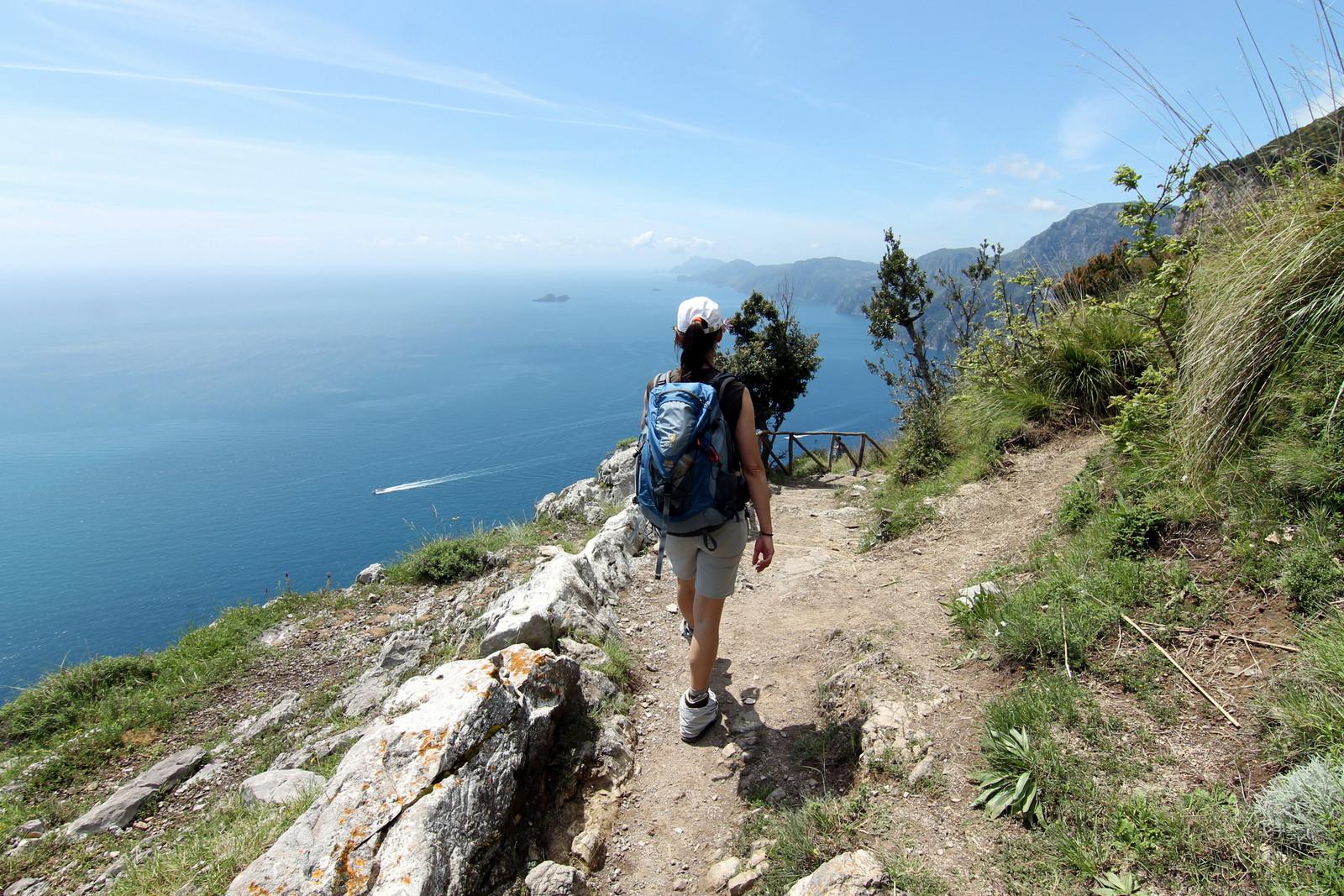 Turismo religioso in Campania Sentieri