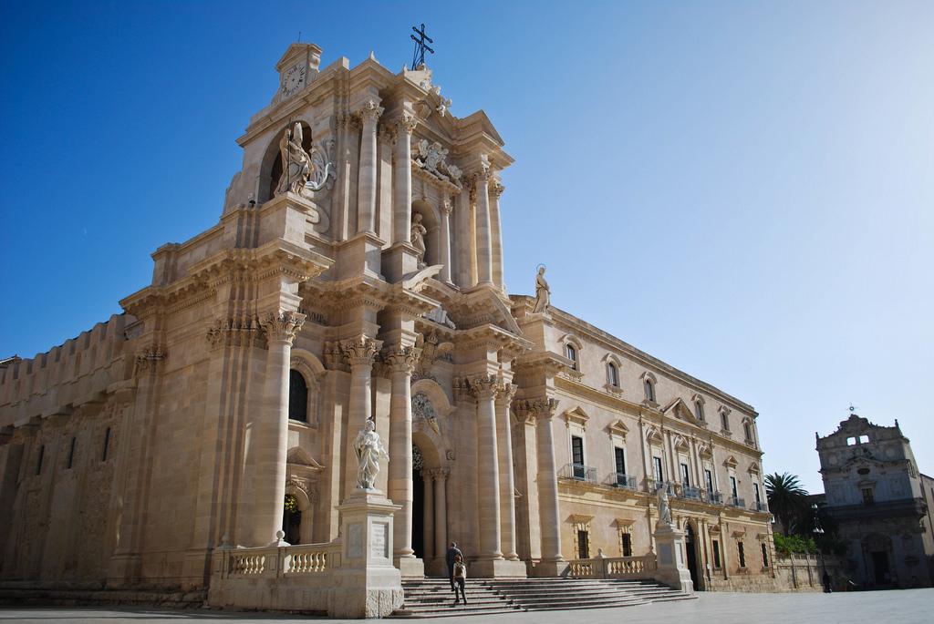 Facciata Cattedrale di Siracusa